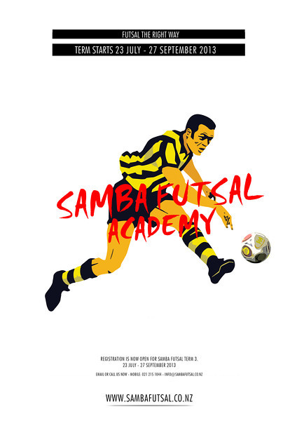 Samba Academy - Advertising Poster