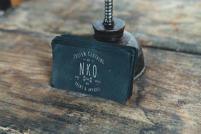 NKO Clothing - Business Card Design
