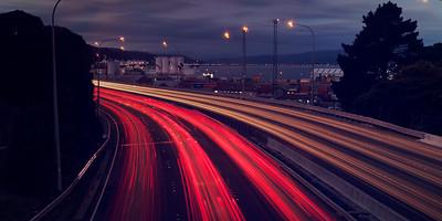 Going Home - Wellington Motorway