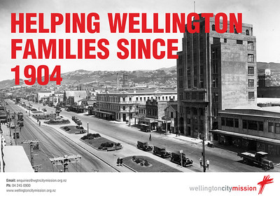 Wellington City Mission - Poster campaign