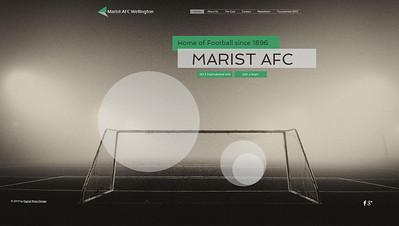 Marist AFC Website
