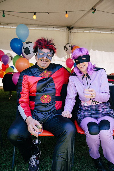Superhero Wedding guests (Superguests)