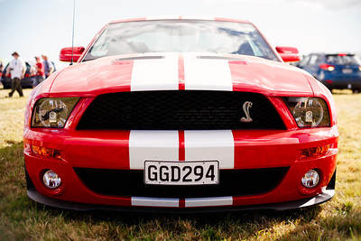 Candy Red Shelby Mustang