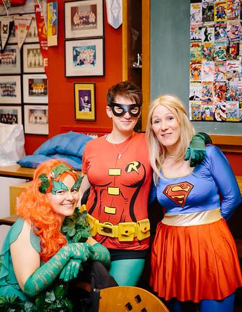 Superhero Reunion!