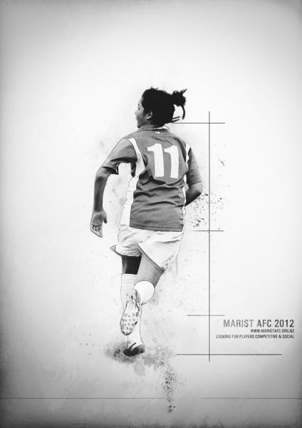 Promotional poster - Marist AFC