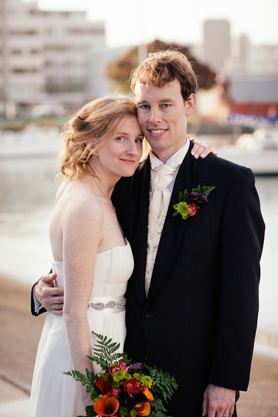 Bridal Portraits on the Waterfront