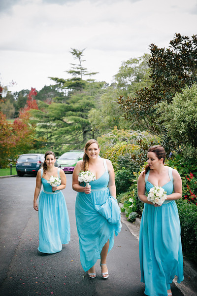 The arrival of the Bridesmaids