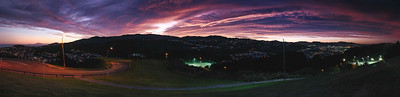 Wellington Southern suburbs panorama