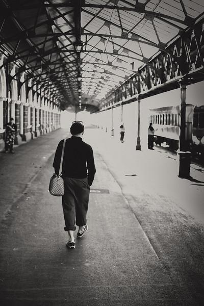 Start of a journey - Dunedin Railway Station