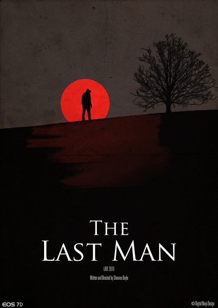 The Last Man - Red Poster