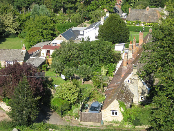 Shrivenham from the church tower