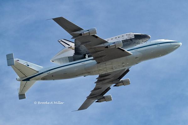 Shuttle Endeavor's Final Flight 21-Sept-2012
