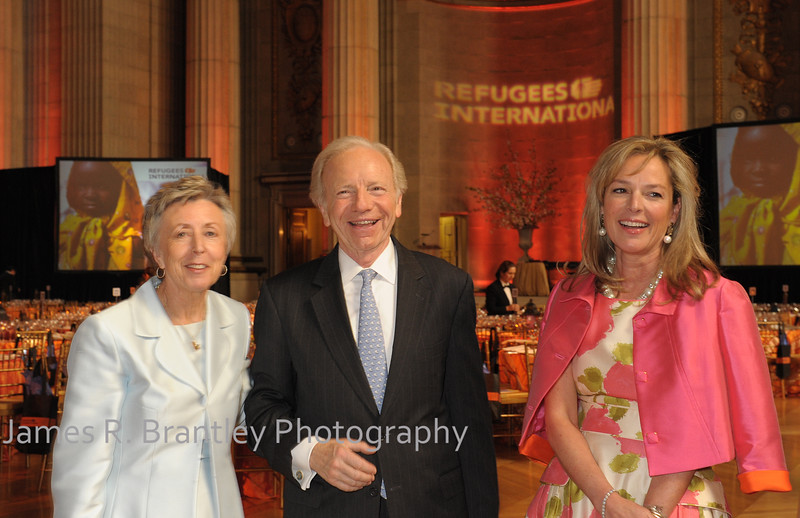 Refugees International holds its' 33rd Anniversary Dinner at the Mellon Auditorium in Washington, DC on Thursday, May 10, 2012.   Her Majesty the Dowager Queen Noor presented the McCall-Pierpaoli Humanitarian Award to Lauren bush Lauren during a program emceed by actor Matt Dillon.  (James R. Brantley)
