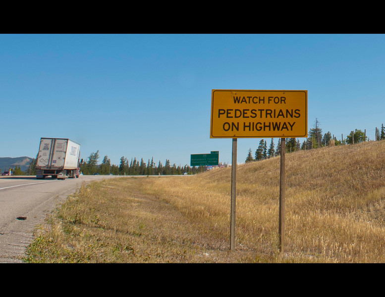 The reason for this sign is part of a national disgrace that Canada has not been willing to address.  <br /> To understand please read John Reilly's book - Bad Medicine: A Judge's Struggle for Justice in a First Nations Community.