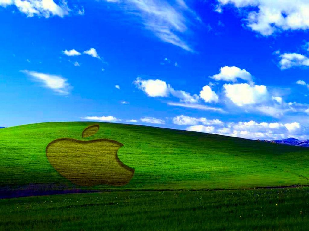 4 Apple XP Wallpaper - enhanced