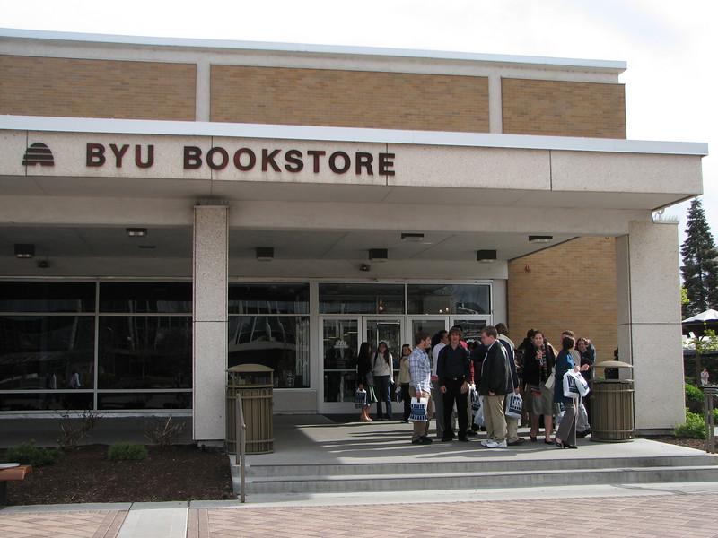 2007 04 10 Tue - BYU Day - My Bookstore