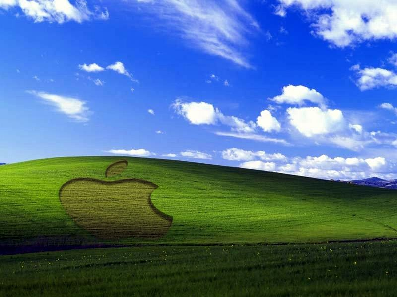 Apple XP Wallpaper