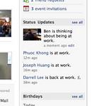 2008 07 21 Mon - Facebook statuses tee hee