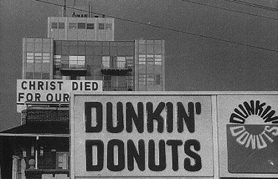 Dunkin' Donuts equals Sin