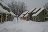 North Leg in the snow.