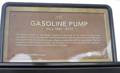 Coda Sign at Gas Station