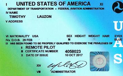 FAA cert