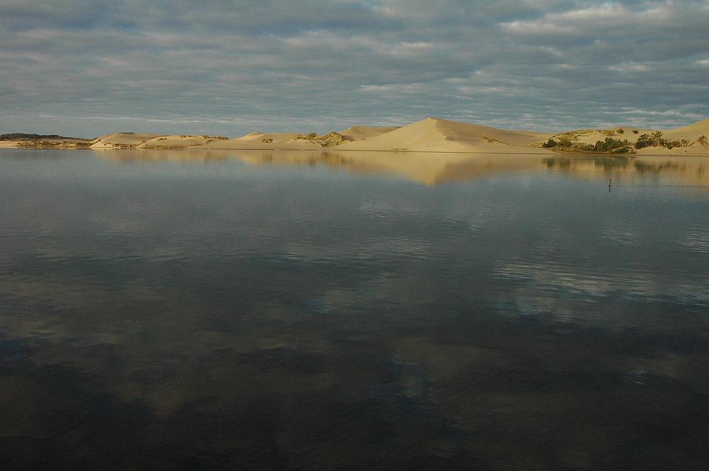 Early morning at Silver Lake