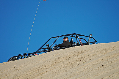 Dune buggy at Silver Lake sand dunes