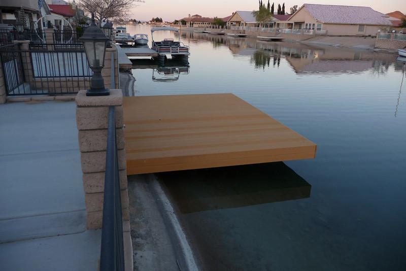 The Trex boat dock