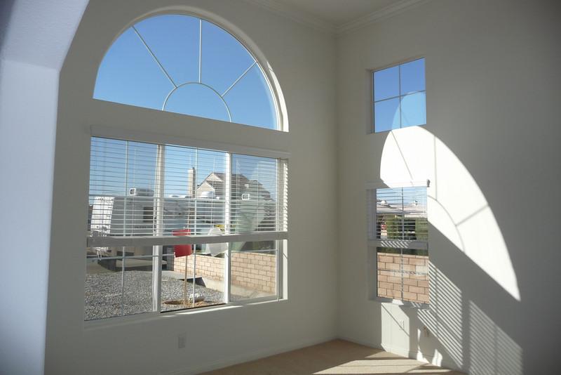 Palladium window in the living room
