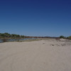 Sand dunes along the Mojave River