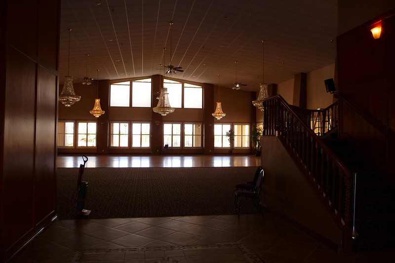Interior of the Silver Lakes Community Center