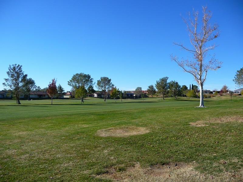 The golf course near the Silver Lakes Inn
