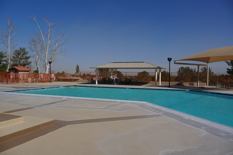 Silver Lakes Community Center pool and cabana