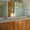 Guest bath upstairs with double sink