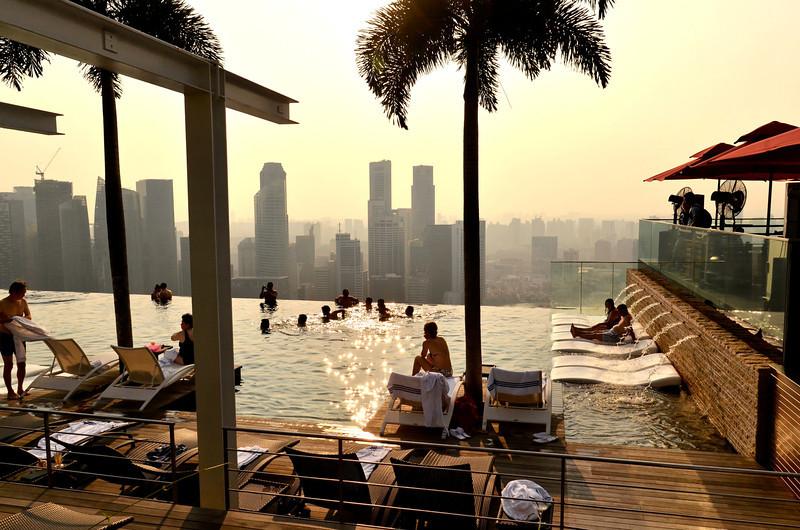 Infinity Pool, Marina Bay Sands, Singapore