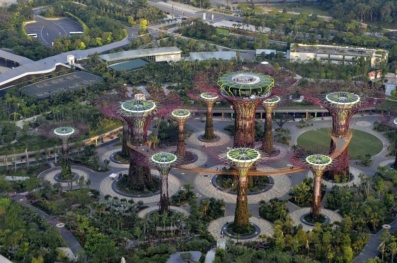 Marina Bay Sands Sky Garden, Singapore