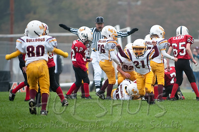 First Round Playoffs: So. Humboldt Bulldogs vs. The Eureka Loggers 11-08-09