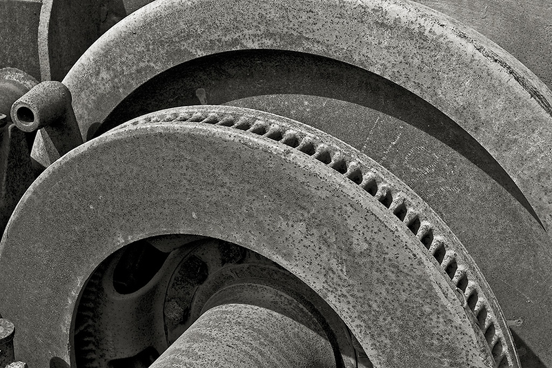 Railcar wheel detail<br /> ©2008 Peter Aldrich