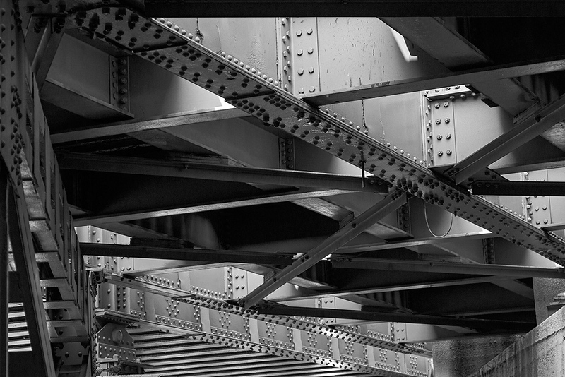 RR Bridge Beams 2<br /> ©2020 Peter Aldrich