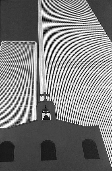 Towers and Church<br /> ©1974 Peter Aldrich