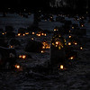 Frogner kirkegård, juleaften 2020