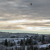Ballong over Lier<br /> Lier, Buskerud 6.1.2019<br /> Canon /5D Mark IV + EF 100mm f/2.8L Macro IS USM