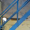 Blå trapp