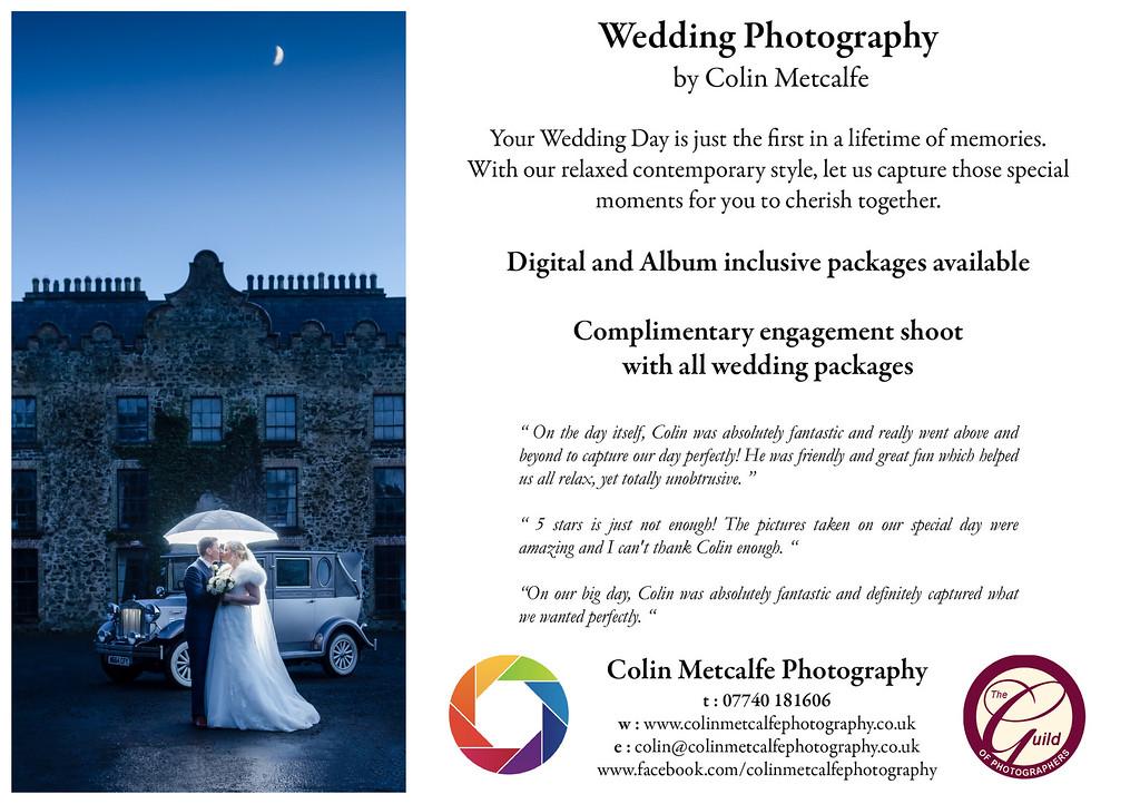 Wedding Flyer 2015