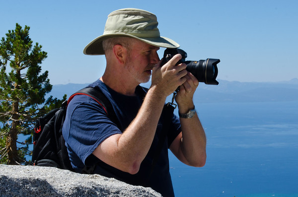 Chuck Haaser Top of Lake Tahoe
