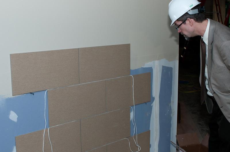 Wall tile samples