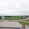 Titans Stadium, Bus Barn aerial