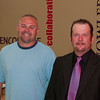 Head Custodian & Ted Shively, Site Supt