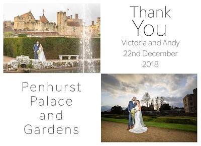 Thank you cards | Penshurst Place